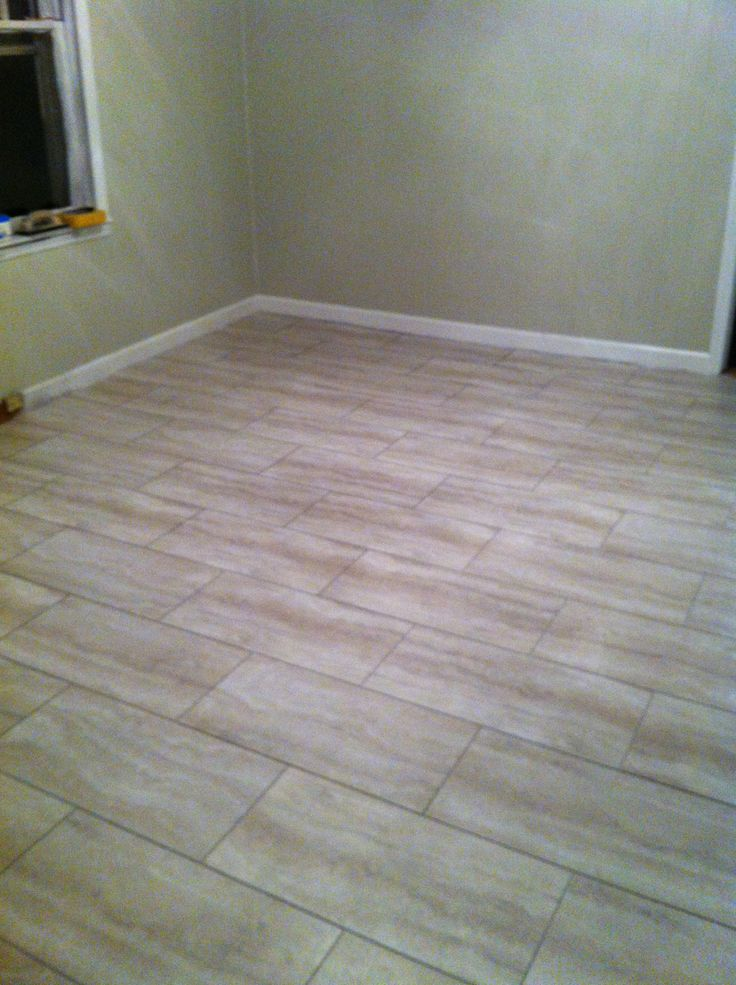 Style Selections Oyster Travertine Vinyl Tile Kitchen