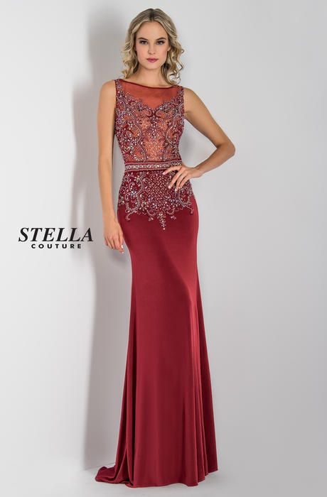 7ad41c48b3 Prom 2018 Preview Stella Couture 16020 Stella Prom Formals XO KING OF  PRUSSIA PA