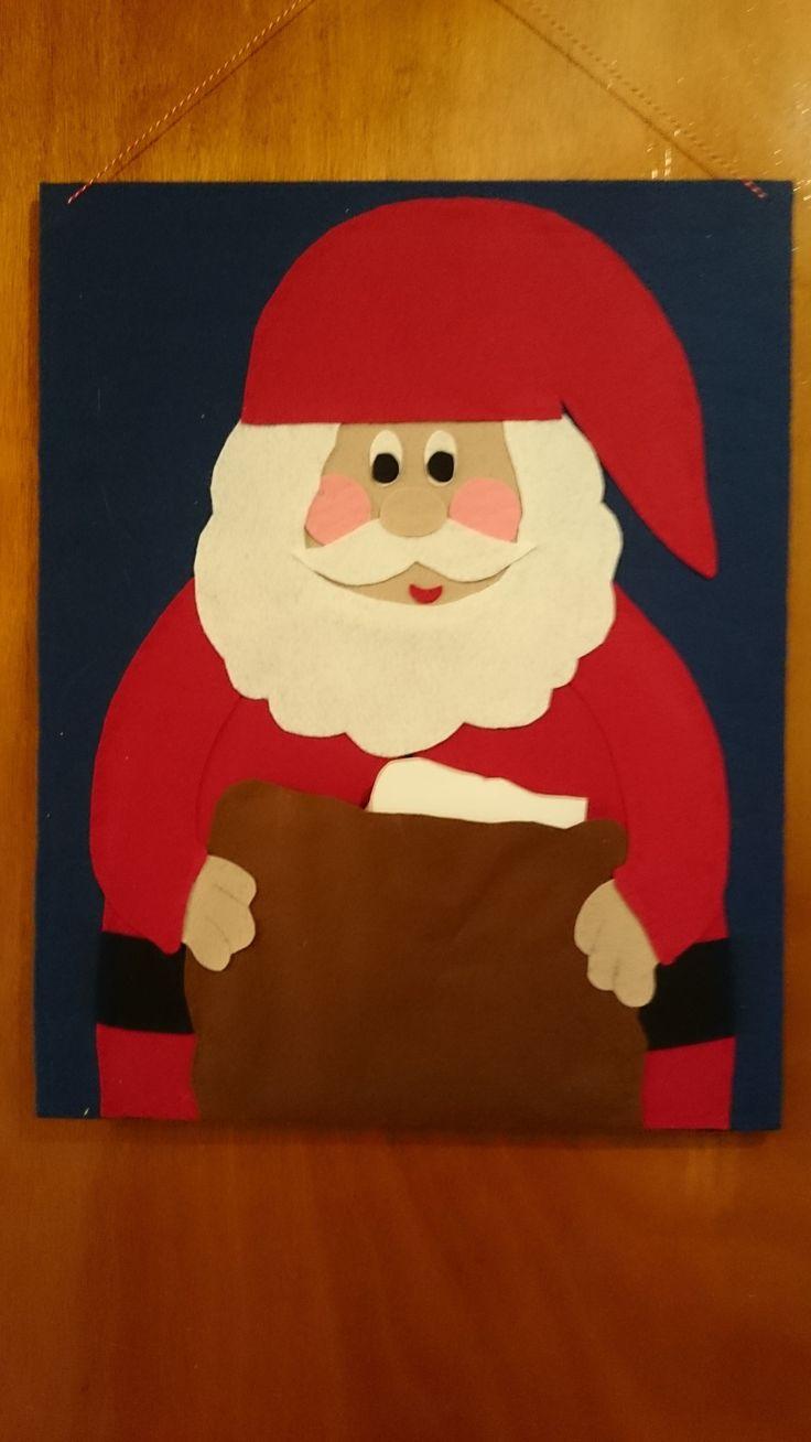 Lav en hjemmelavet julepostholder til alle julekortene