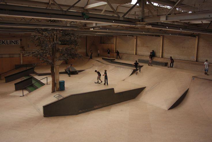 Dutch Skatepark Area 51 in the city Eindhoven!