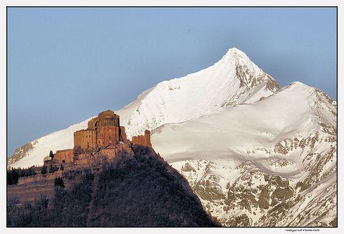 A magical abbey outside Turin: Sacra di San Michele (http://www.italybeyondtheobvious.com)
