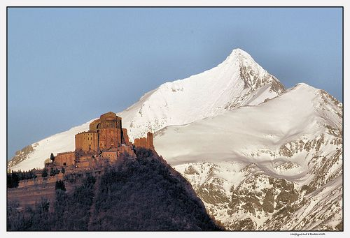 A magical abbey outside Turin: Sacra di San Michele (http://www.italybeyondtheobvious.com)