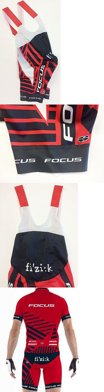 Shorts 177853: Focus Xc Mountain Bike Team Cycling Bib Shorts - Made In Italy By Gsg -> BUY IT NOW ONLY: $60.47 on eBay!