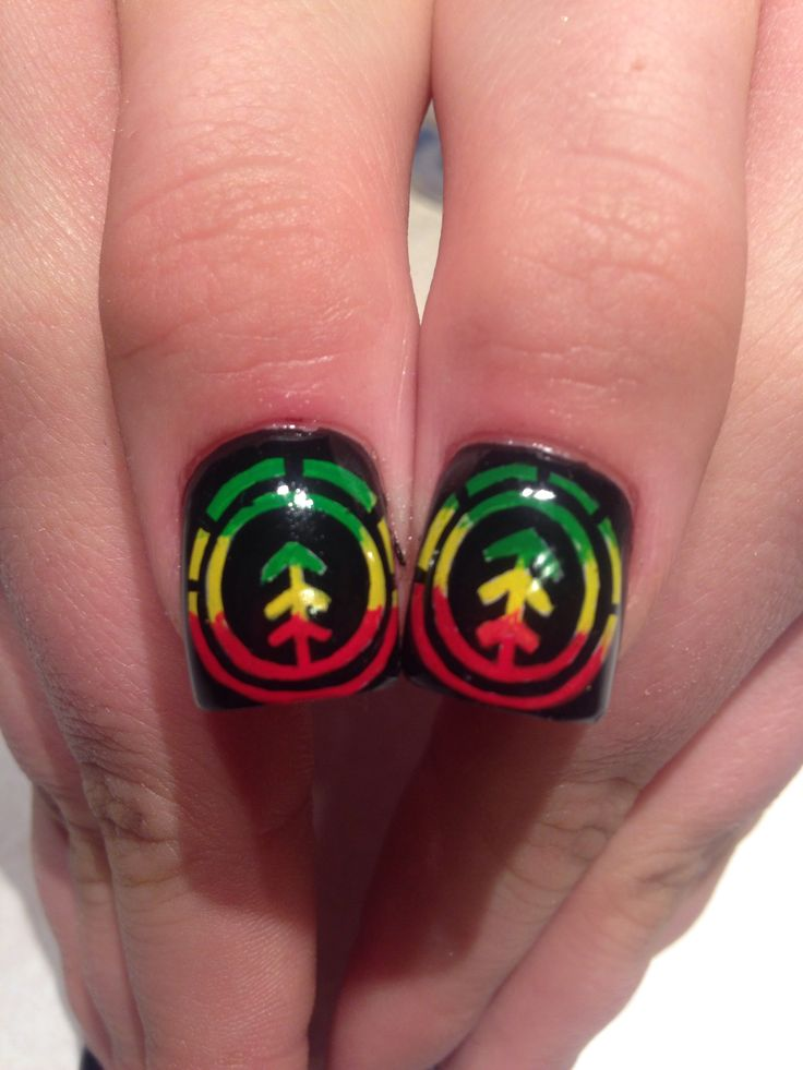 8 best rasta bay bay images on pinterest make up bays and eat element rasta nail art prinsesfo Choice Image