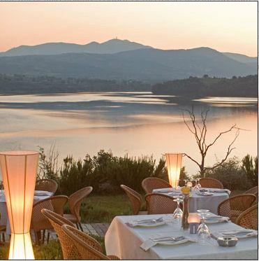 Fragma At Marathon Lake, Greece