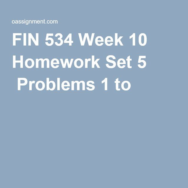 fin 534 discussion questions week 1 Fin 534 week 2 discussion 1 click the link above to respond to the discussion if you need help with completing discussions please click here for more informat.