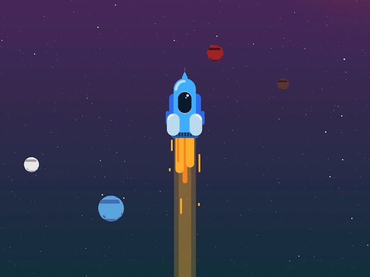 Rocket on Behance