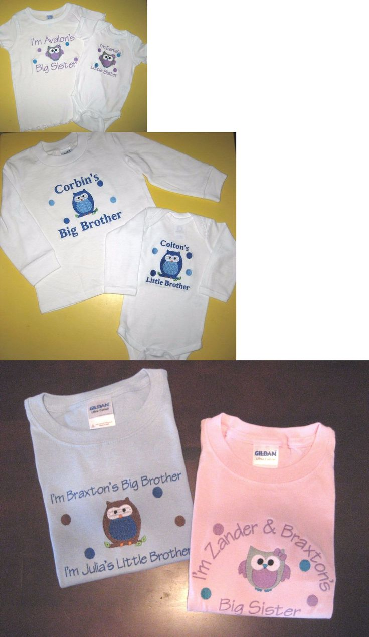 Create your own designs amp sell your design online shirts zazzle - Outfits And Sets 163427 Personalized Big Little Sister Big Little Brother Owl T Shirt And