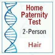 Hair DNA Paternity Testing Kit.  Testing DNA via hair samples is a lot more expensive than doing a DNA test from a mouth swab.