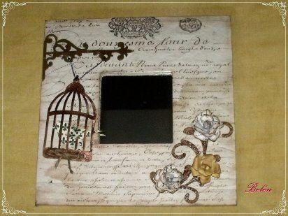 II-Bricolaje - manualidades con Sellos, Stencil, Stucco, Decoupage                                                                                                                                                     Más