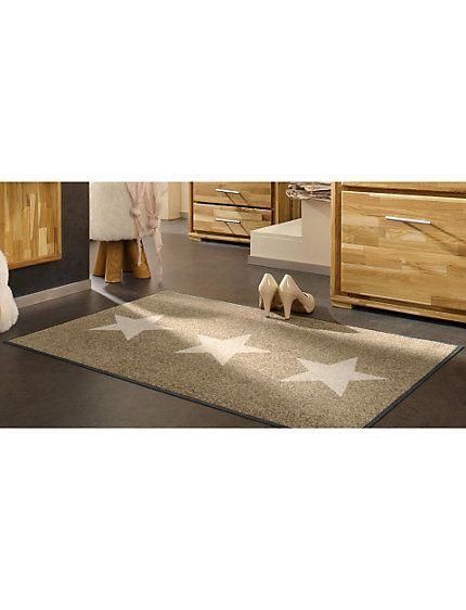 Schmutzmatte »Sterne« von »wash + dry«, in 2 Farben