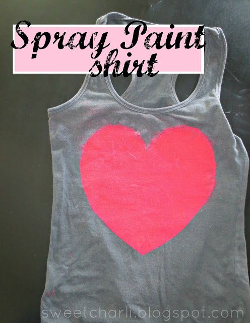fabric paint shirt spray paint shirts workout tops workout shirts. Black Bedroom Furniture Sets. Home Design Ideas