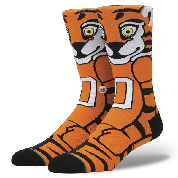 Clemson Tigers Stance Mascot Crew Socks - $19.99