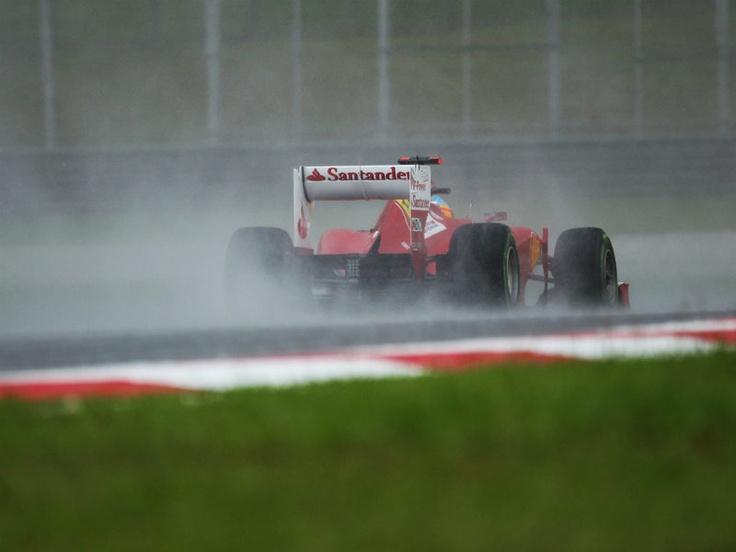 Fernando Alonso, 2012 Formula One Malaysian Grand Prix.