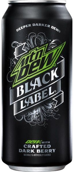 This label embraces metallic lettering. The green boldly contrasts the black and silver colors. This design visually aesthetic.