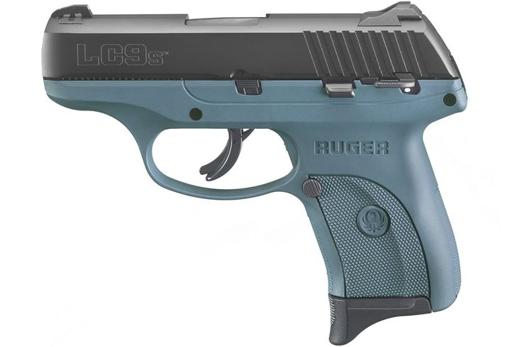 Ruger LC9s 9mm Blue Titanium Striker-Fired Carry Conceal Pistol - $328.88 (Free…