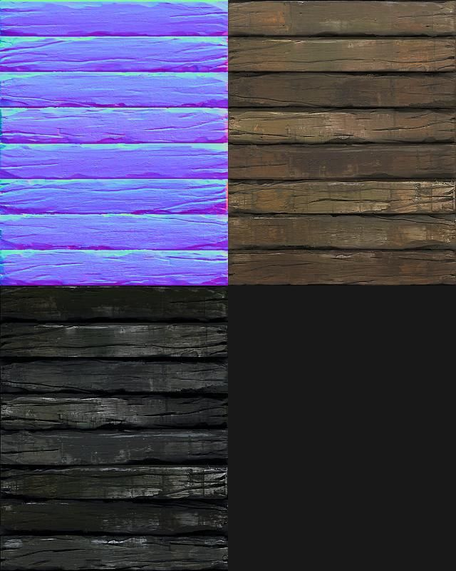 Zbrush Wood Creation http://www.free3dtutorials.com/materials-rough-wood-planks-tutorial.php