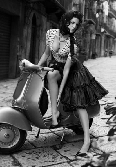 .Scooter Girl