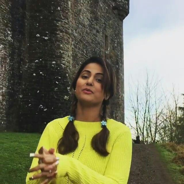 Beautiful #HinaKhan  #GameofThrones  #Scotland   #winteriscoming Got to see many locations whr GOT was shot😊 Love you Mom ❤