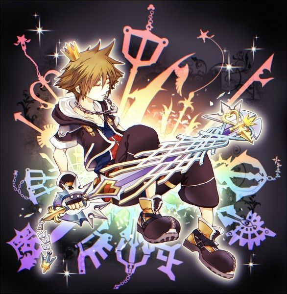 Janne1230, Kingdom Hearts, Kingdom Hearts II, Sora (Kingdom Hearts), Keyblade