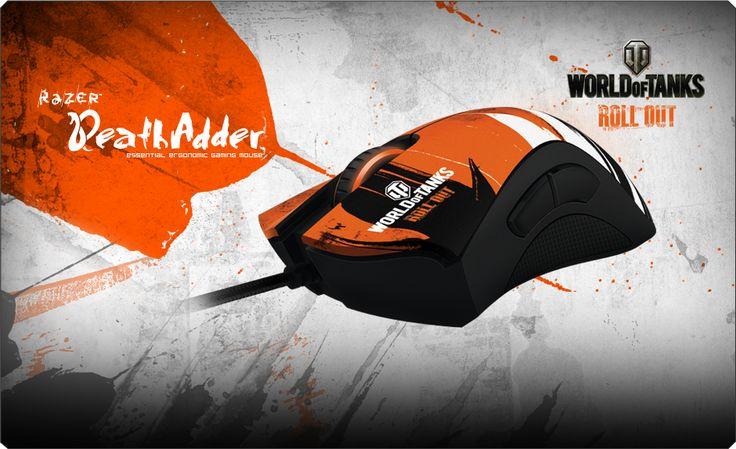 World of Tanks Razer DeathAdder Gaming Mouse - Ergonomic Mouse