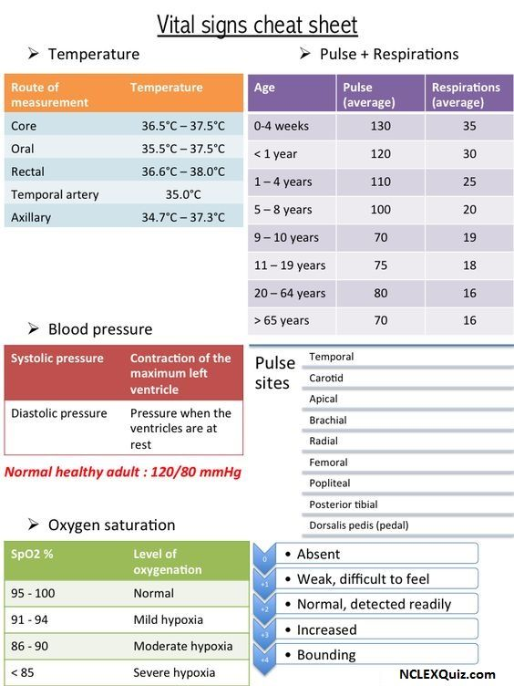 Normal Vital Signs You Need to Know in Nursing School