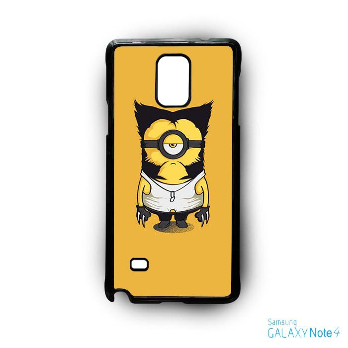 marvel minions avengers X men minions AR for Samsung Galaxy Note 2/3/4/5/Edge phonecase
