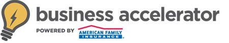 Fantastic complimentary education & training - online and in person for small business! Business Accelerator powered by American Family Insurance