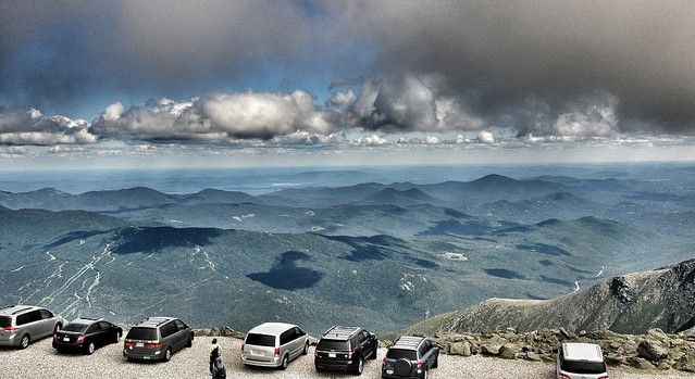 There's No Attraction In The World Quite Like This One In New Hampshire. Mt. Washington