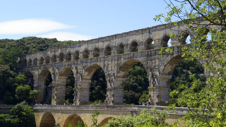 Pont du Gard a roman relic size and scope hard to fathom until your there