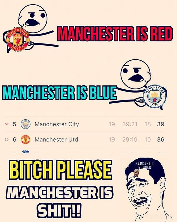 Manchester is shit 😂😂😂😂 #afc #coyg #arsenal