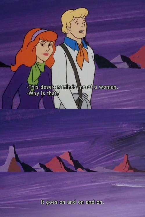 Girl dating fred in scooby doo