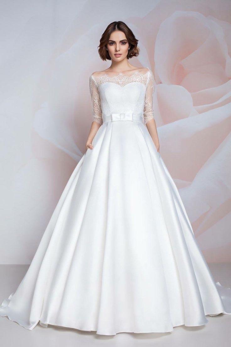 158 best Wedding Gowns images on Pinterest   Wedding veils ...