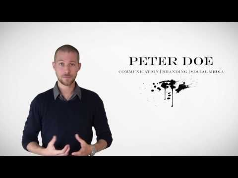 25 best Video Curriculum Infografico images on Pinterest Resume - video resume