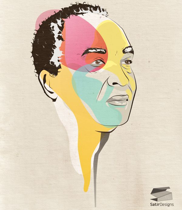 My Father by enas satir, via Behance