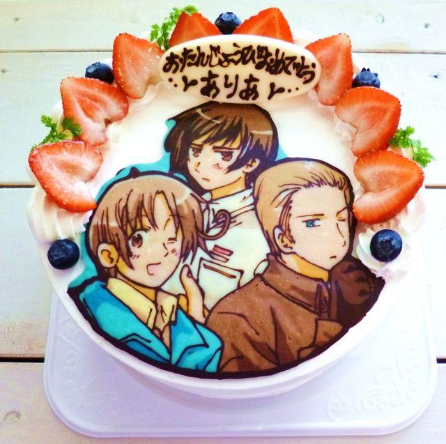 ... anime cakes hetalia cake my birthday cake 14th birthday birthday cakes