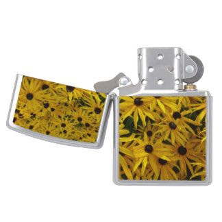 Floral Photography Yellow Orange Flowers Nature Zippo Lighter
