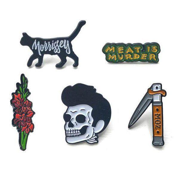 Morrissey PIN BADGES