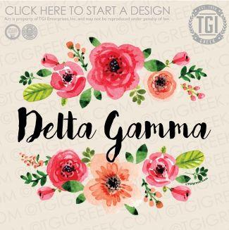 Delta Gamma | ΔΓ | PR | PR Shirt | Sorority PR | TGI Greek | Greek Apparel | Custom Apparel | Sorority Tee Shirts | Sorority T-shirts | Custom T-Shirts
