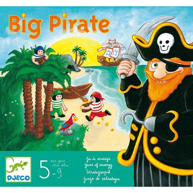 Nagy kalóz társasjáték (Djeco Big Pirate) | Pandatanoda.hu Játék webáruház