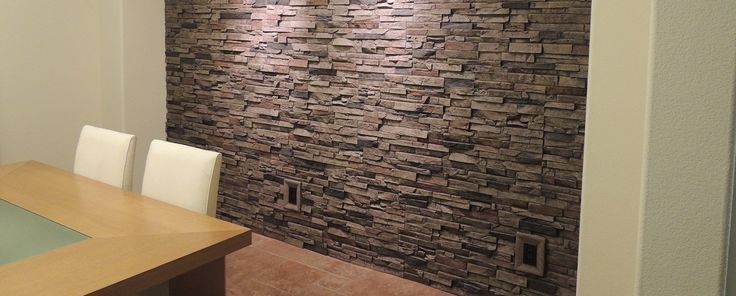 Faux rock panels create beautiful accent walls, wainscoting and more for less time and money.