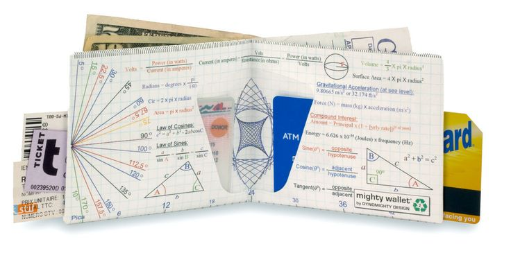 Chucklehead Toys - Wealth of Knowledge Mighty Wallet, $15.00 (http://www.chuckleheadtoys.com/wealth-of-knowledge-mighty-wallet/)