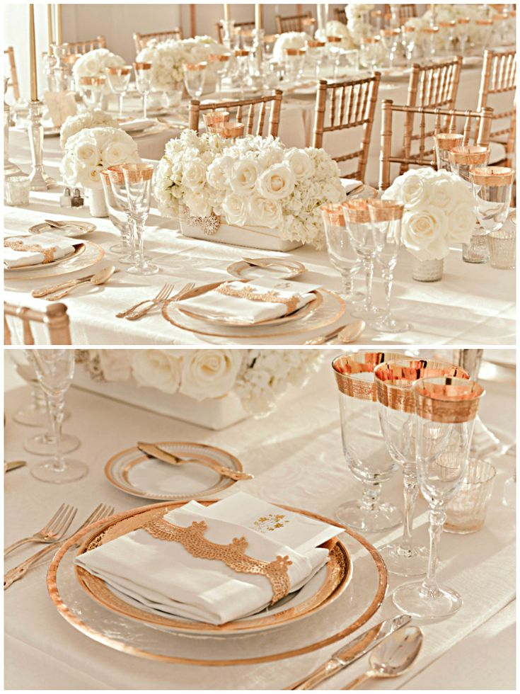 rose gold tablescapes dream wedding pinterest rose gold to be and wedding events. Black Bedroom Furniture Sets. Home Design Ideas