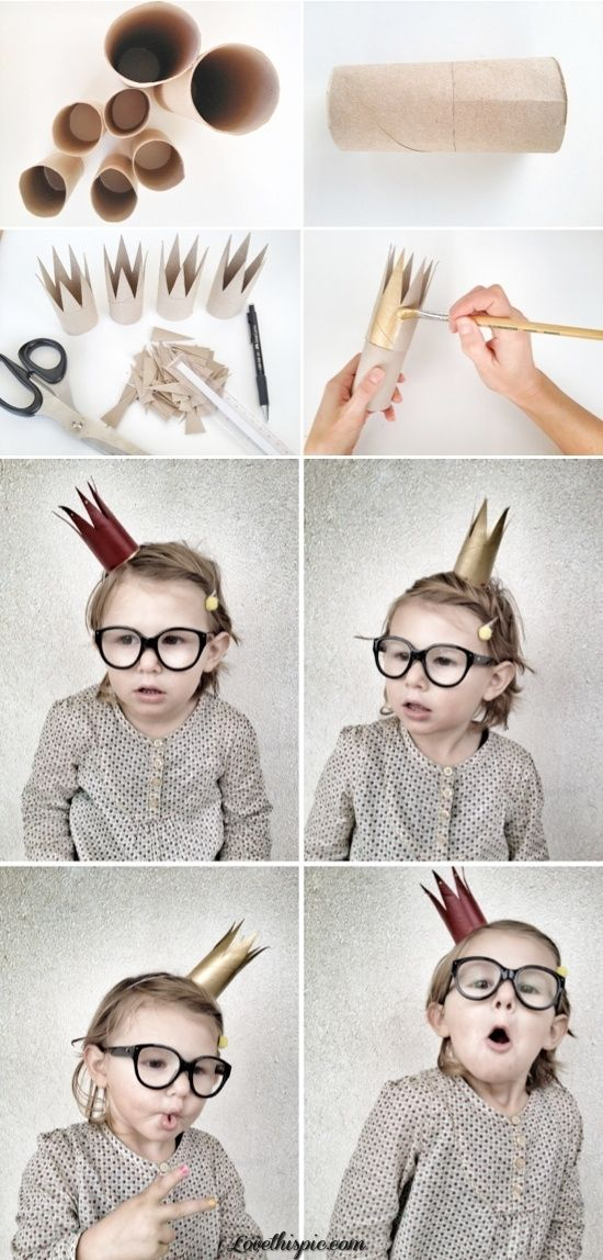 Cardboard Roll Crown Pictures, Photos, and Images for Facebook, Tumblr, Pinterest, and Twitter