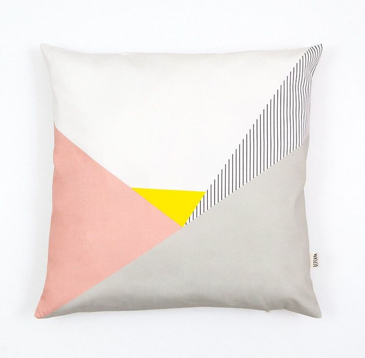 Memphis Milano Cushion Cover, organic cotton pillow case, decorative cushion, pastel pink, stripes, Geometric Cushion, home decor, Depeapa by depeapa on Etsy https://www.etsy.com/listing/167211910/memphis-milano-cushion-cover-organic