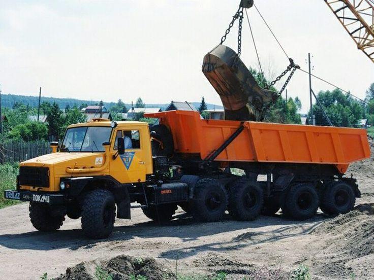 1993 Ural 4422-3