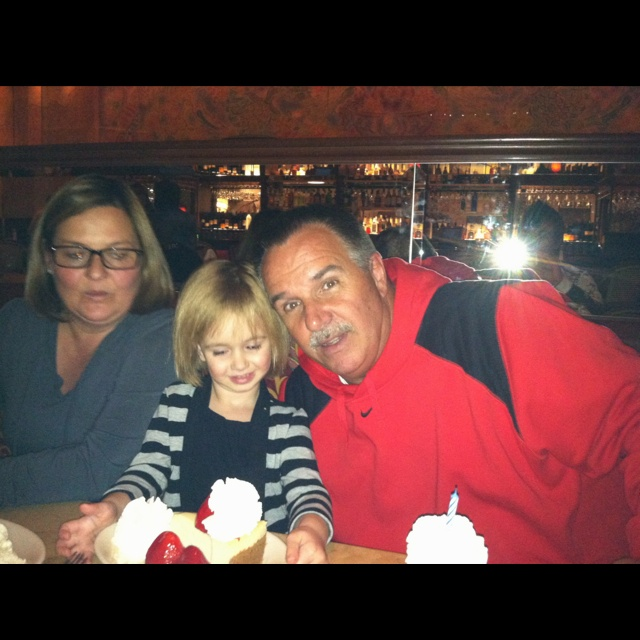Papaws Bday cheesecake factory