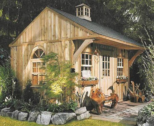 Best 25+ Outdoor Garden Sheds Ideas On Pinterest | Garden Sheds, Rustic  Greenhouses And Shed Landscaping