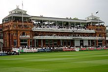 Lord's Cricket Ground - Wikipedia, the free encyclopedia
