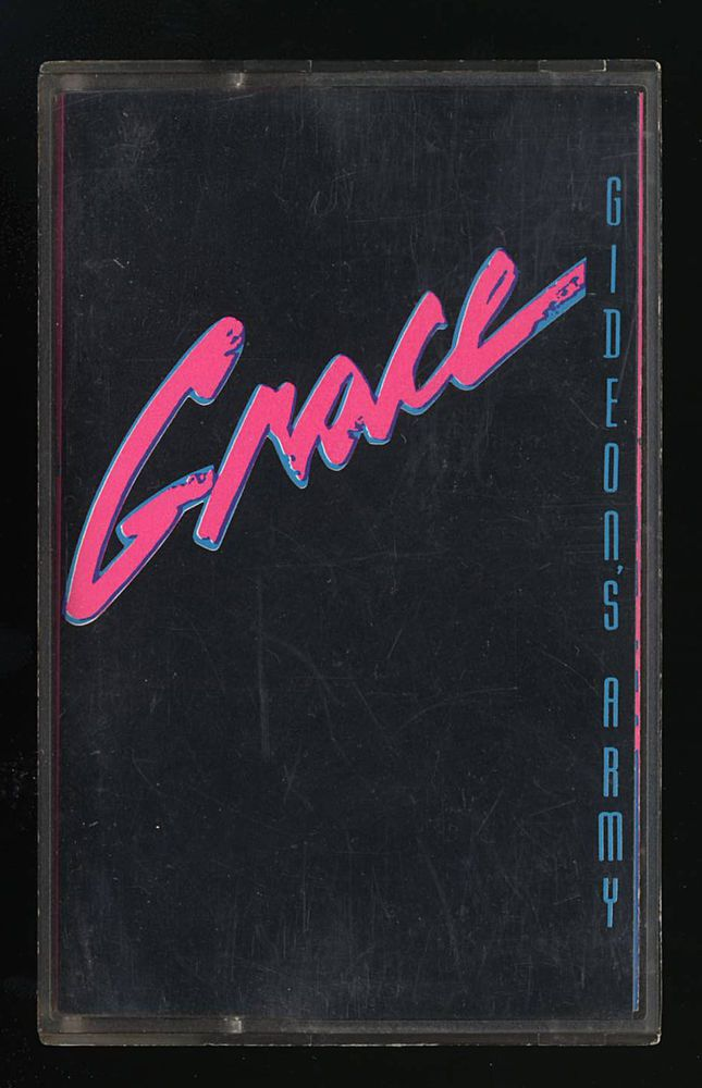 Gideon's Army - Grace  (Cassettes) (1990 Pan-Trax Records) Christian Metal CCM…